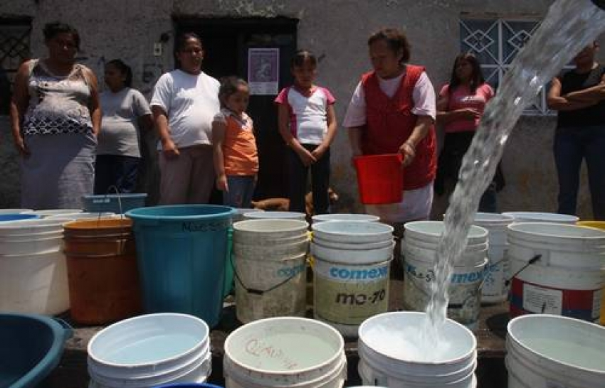 Viene un desabasto peor: el de agua
