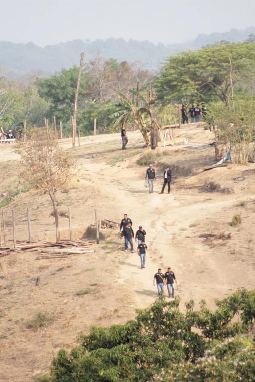 """El Cerro """"Nambiyiguá"""" (""""CERRO BRUJO"""") Queda libre de Invasores"""