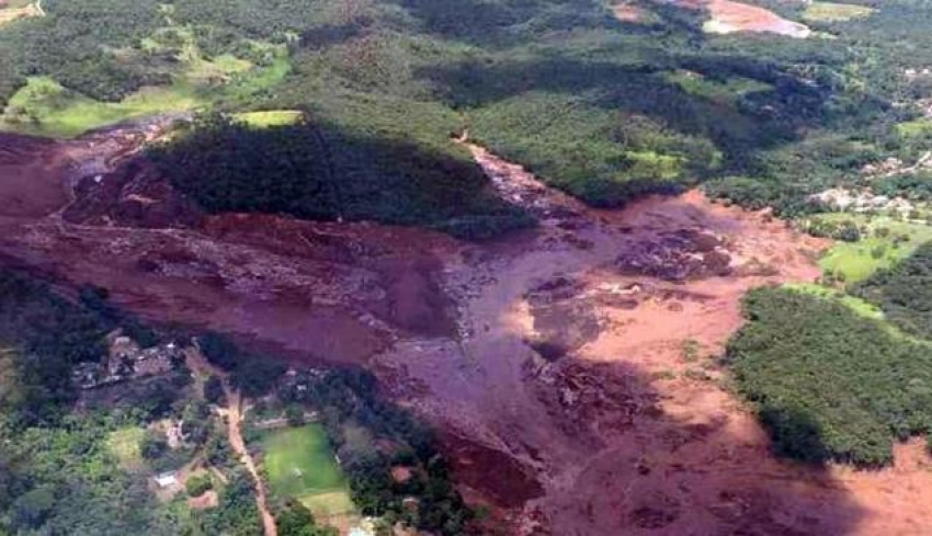 Tragedia en Brasil, al menos 200 desaparecidos tras colapso de presa